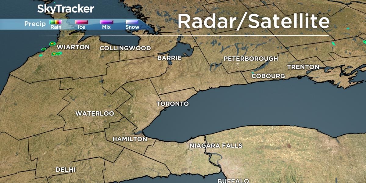 Toronto Island Weather Radar